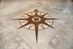 Compass różanego Zdjęcia Stock