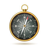 Compass Realistic Isolated Stock Photo