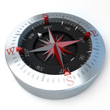 Compass red Royalty Free Stock Photo