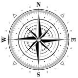 Compass Rose royalty free illustration