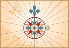 Compass Rose Royalty Free Stock Images