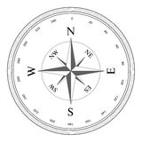Compass rose Royalty Free Stock Photos