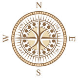 Compass rose. A special design of compass rose Stock Photography