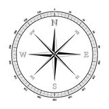Compass rose Stock Photo