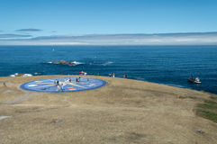 Compass rose in A Coruna Royalty Free Stock Image
