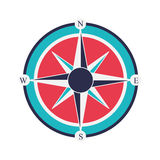 Compass rose design Royalty Free Stock Images