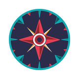 Compass rose design Royalty Free Stock Photo