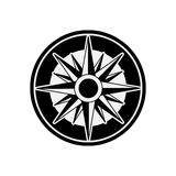 Compass rose design Stock Images
