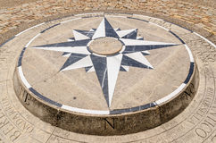 Compass Rose detail Royalty Free Stock Image