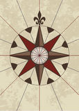 Compass Rose. Travel old style Royalty Free Stock Image