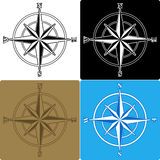 Compass Roses Royalty Free Stock Photography