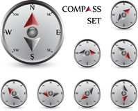 Compass set Stock Image