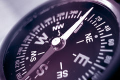 Compass showing north Royalty Free Stock Photography