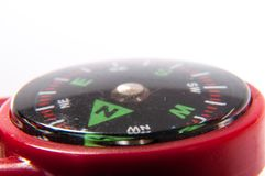 Compass showing north direction. An image of compass showing north direction royalty free stock photo