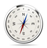 Compass Silver Royalty Free Stock Images