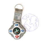Compass and sketch of the Earth, travelling theme Stock Photos