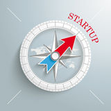 Compass Startup Royalty Free Stock Photography