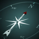 Compass of success Royalty Free Stock Photo