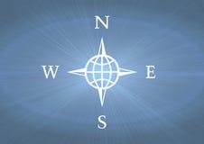 Compass symbol Stock Image
