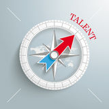 Compass Talent Stock Photo