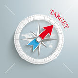 Compass Target Royalty Free Stock Images
