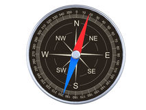 Compass top view Royalty Free Stock Photos