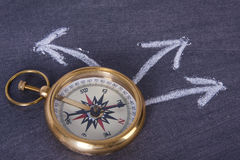 Compass, travel concept Royalty Free Stock Photo