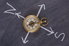 Compass, travel concept Stock Image