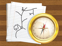 Compass vector Stock Images