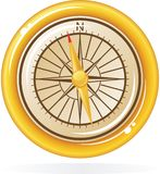 Compass in vector Royalty Free Stock Image