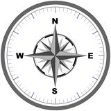 Compass (vector) royalty free illustration