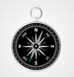Compass. Vector Compass in  background Royalty Free Stock Photography