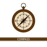 Compass Vector Icon Royalty Free Stock Image
