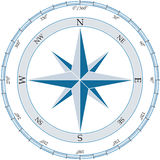 Compass. Vector illustration. Royalty Free Stock Photos