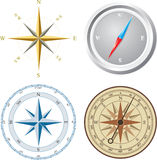 Compass. Vector illustration. Royalty Free Stock Image