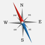 Compass. Vector Illustration. Stock Images