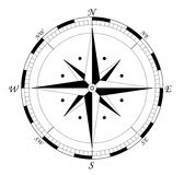 Compass vector illustration royalty free illustration