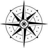 Compass. Vector illustration for web Royalty Free Stock Photos