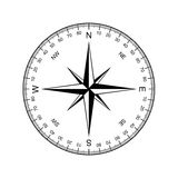 Compass vector Stock Photography