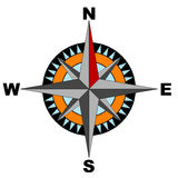 Compass (vector included) Stock Image