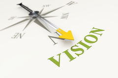 Compass vision Stock Images