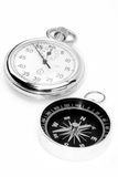 Compass watch Royalty Free Stock Images