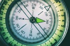 Compass Way Indication Stock Photo