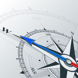 Compass west Royalty Free Stock Photography