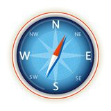 Compass on white Royalty Free Stock Photos