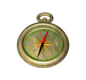 Compass on white Royalty Free Stock Photography