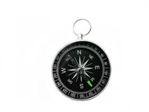 Compass on white Royalty Free Stock Images