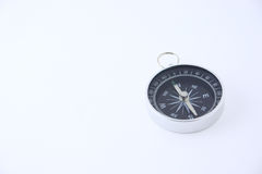 Compass on a white background. Removed close up. Not isolated Royalty Free Stock Images