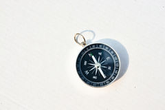Compass on a white background. Royalty Free Stock Photo