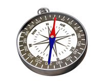 Compass on white - clipping path Stock Photography